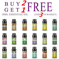 Natural 10ml Essential Oils 100% Pure Aromatherapy Essential Fragrance Aroma CHZ