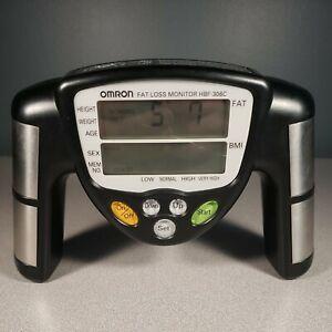 Omron Fat Loss Monitor HBF-306C Black
