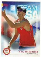 2016 Topps US Olympic Team USA Hopefuls #56 Phil Dalhausser  Volleyball