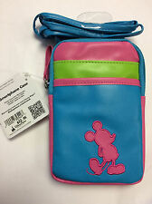 Disney Parks Authentic Mickey Smartphone iPhone Case Purse Pouch with Strap