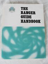 More details for girl guiding the ranger guide handbook 1972
