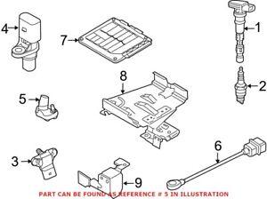 Genuine OEM Engine Crankshaft Position Sensor for Volkswagen 07K906433B