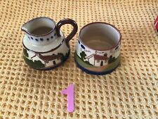 More details for vintage watcombe torquay cream jug and sugar bowl