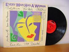EVERY MAN HAS A WOMAN PROMO LP (POLYDOR 823 490) JOHN LENNON EDDIE MONEY