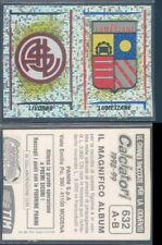 FIGURINA CALCIATORI PANINI 1998/99-SCUDETTO LIVORNO/LUMEZZANE -N.632-NUOVA