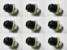 High Quality 50 pcs Mono Jack Socket 1/4'' Stratocaster Replacement Guitar Parts