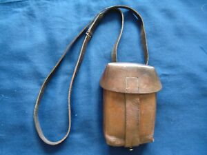 WW1 LEATHER MILITARY AMMO POUCH