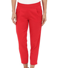 Nike Golf Majors Solid Red Pants Women's Size 8 3403