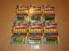 Lot of 6 Hot Wheels (Easter Eggsclusives) Brand New in Blister Packs!