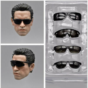 """ZYTOYS 1/6th ZY15-20 Terminator Arnold Seal U.S. Army Glasses Set Model for 12"""""""