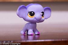 *Littlest Pet Shop* #3597 LPS Moms Elephant w/ Yellow Eyes