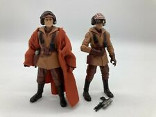 STAR WARS Naboo Pilot LOT, Ric Olie & vc72, Vintage Collection Black series 3D
