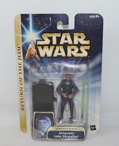 Star Wars Holographic Luke Skywalker ~ Jabbas Palace Return Of The Jedi IOP 2004