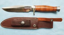 Brand New Randall Knife with Commando shape Handle & Nickel Silver Hilt