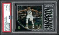 2019-20 Panini Prizm #3 GIANNIS ANTETOKOUNMPO Get Hyped! PSA 10 GEM MINT