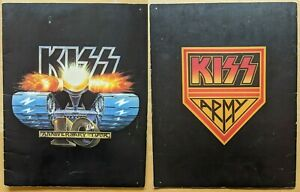 KISS Creatures of the Night 10th Anniversary Tour Book **RARE**