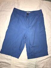 OLD NAVY Boys Blue Lightweight Cotton Dress Shorts ~ SZ 14 Regular ~