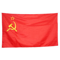 Soviet Union Communist Russian Russia Socialist Red National Flag USSR #HN