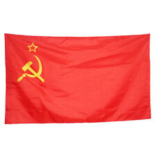 USSR Soviet Union Communist Russian Russia Socialist Red National Flag ne8