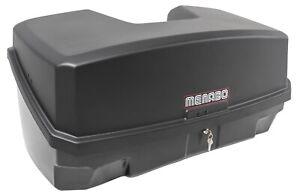 Menabo Nekkar schwarz Transportbox Gepäckbox  Kupplungsträger Heckträger 300 Ltr