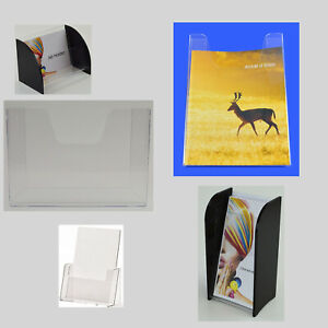 Leaflet Holders and Dispensers