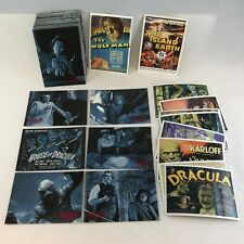 UNIVERSAL MONSTERS OF THE SILVER SCREEN Complete Card Set DRACULA FRANKENSTEIN