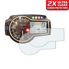 2 x SUZUKI GSR750 Dashboard Screen Protector: Ultra Clear