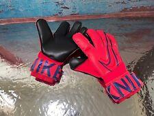 Nike GK Vapor Grip 3 Elite ACC Soccer Goalkeeper Gloves Red GS3884-644 Size 8