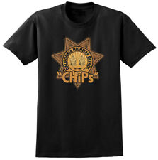 CHiPs Retro TV Show Inspired T-shirt - Classic USA 70s 80s Television Tees Bike