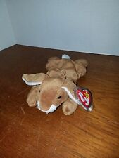 Ty Beanie Baby Ears the Bunny Style # 4018 VERY RARE and Retired with Errors