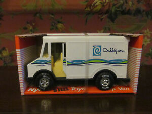 NYLINT Steel Hey CULLIGAN Man MIB Delivery Truck Step Van NOS 1988