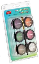 Graftobian Face Painting Palette Make Up & Glitter Set Secondary Colors