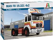 Italeri 3946 MAN F8 19.321 4x2 1:24 unlackierter Bausatz LKW