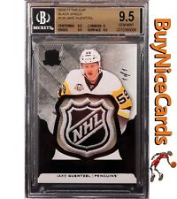2016-17 Jake Guentzel Upper Deck The Cup Black Shield RC Rookie 1/1 BGS 9.5