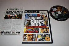 Grand Theft Auto Liberty City Stories Sony Playstation 2 PS2 Video Game Complete