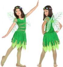 Costume Girl Tinker Bell Green 7/8/9 Years Drawing Cartoon New Cheap