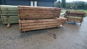 Wooden Timber  Post 2400 x 100mm x 100mm Fencing panel post