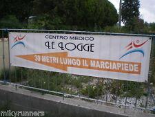Striscione banner pvc telone pubblicitario personalizzato 1,30 x 6 mt