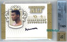 2010 SPORT KINGS AUTO GOLD: MUHAMMAD ALI/10 ON CARD AUTOGRAPH BGS 9/10 GREATEST