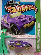 CASE Q 2013 Hot Wheels RD-05 #57 US Team∞Purple w/Yellow M∞Future Fleet∞