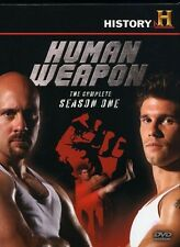 NEW Human Weapon - The Complete Season One (4-DVD Set) History Channel Sealed 1