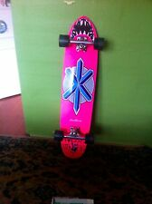 "longboard, aaron murray, hot pink, autographed by ""fingers"""