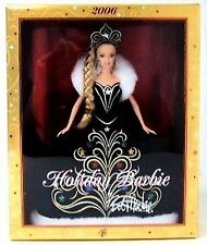 HOLIDAY BARBIE DOLL BY BOB MACKIE 2006 New in the box