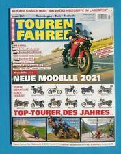 Motorrad Reisen Tourenfahrer Januar 2021  NEU + ungelesen 1A abs. TOP