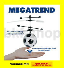 Helikopter Ball Flugball fliegender Fußball LED Infrarot-Sensor Handsteuerung