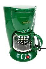 Gevalia Coffee Maker & Carafe Gevalia Connoisseur Model DL-10G Green 10 Cup NEW