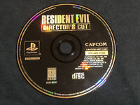 Resident Evil: Director's (Sony Playstation 1, PS1) First Game, DISC ONLY, Good!