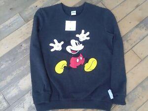 Women's Disney size  8/10 very stylish Mickey mouse sweatshirt top