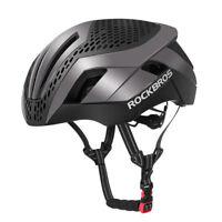 ROCKBROS MTB Road Bike Cycling 57-62cm EPS Integrally Helmet 3 in 1 Ti Color