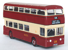 16531 EFE Leyland Atlantean MCW Double Deck Bus OK Motor Services 1:76 Diecast